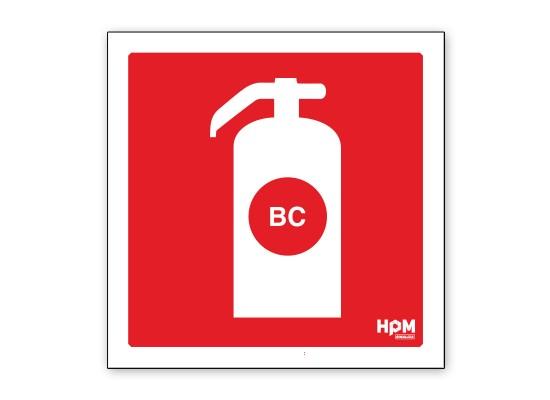 Extintor de Incêndio BC