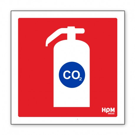 Extintor de Incêndio CO2