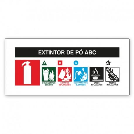 Extintor de Incêndio ABC