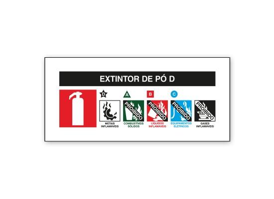 Extintor de Pó D