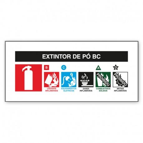 Extintor de Pó BC