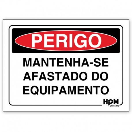 Placa Perigo - Somente Pessoal Autorizado