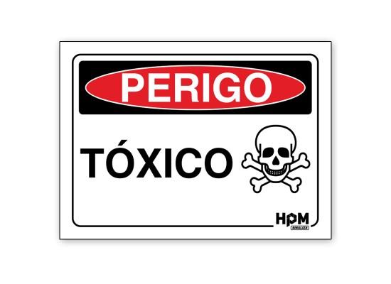 Placa Perigo - Material Radioativo
