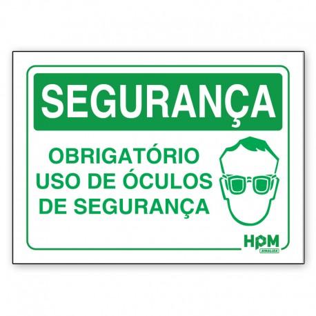 Placa Segurança - Use Roupas de Proteção