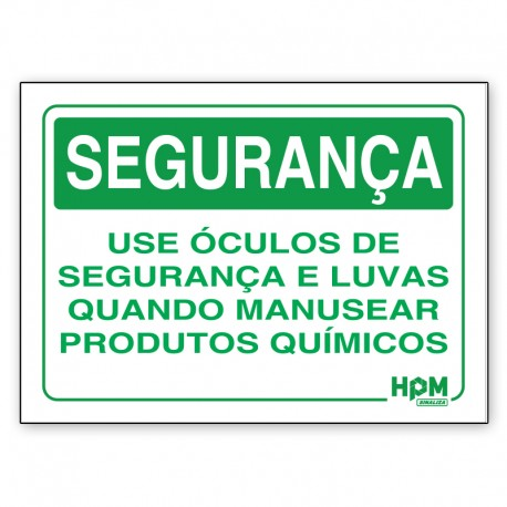 Placa Segurança - Use Calçados de Segurança