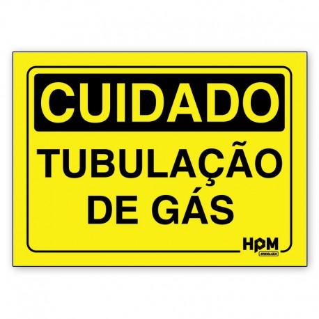 Placa Cuidado Gasolina